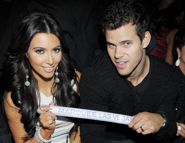 Kim Kardashian Kris Humphries Celebrity Slice