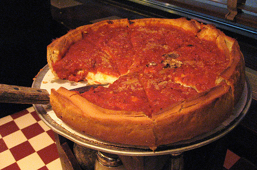 chicago deep dish celebrity slice