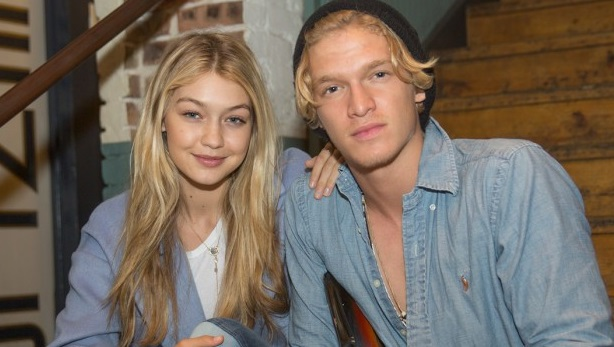 gigi hadid cody simpson celebrity slice