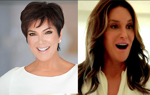 kris jenner and caitlyn jenner celebrity slice