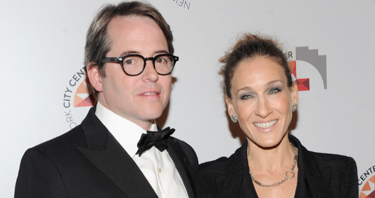 Sarah Jessica Parker And Matthew Broderick celebrity slice
