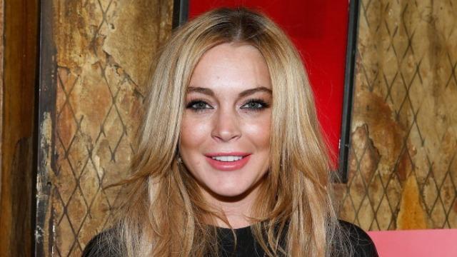 Lindsay lohan celebrity slice