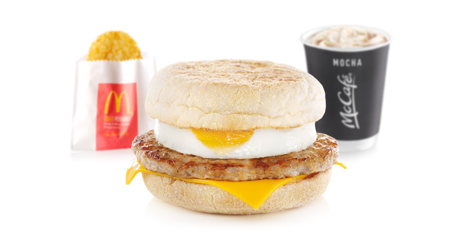 mcdonalds breakfast celebrity slice