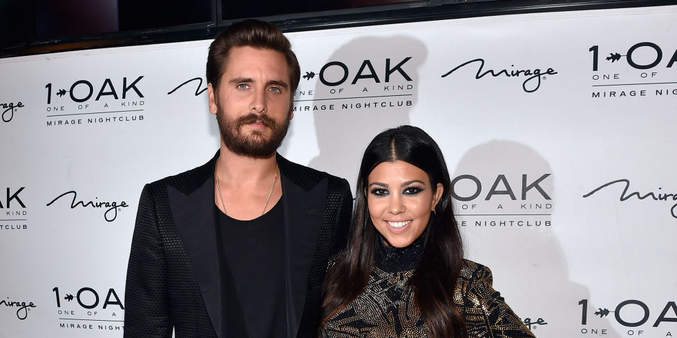 kourtney kardashian scott disick celebrity slice