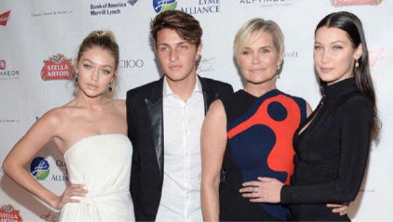 gigi hadid family celebrity slice