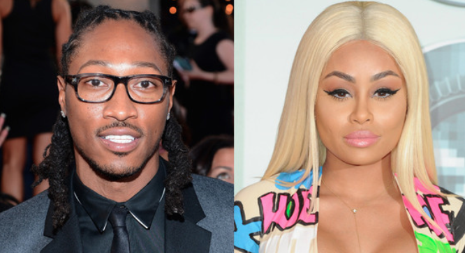 Blac Chyna and Future celebrity slice