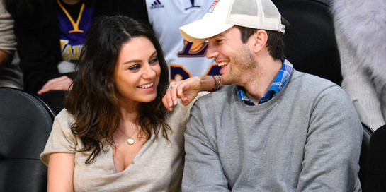 mila kunis and ashton kutcher celebrity slice