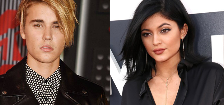 justin bieber and kylie jenner celebrity slice