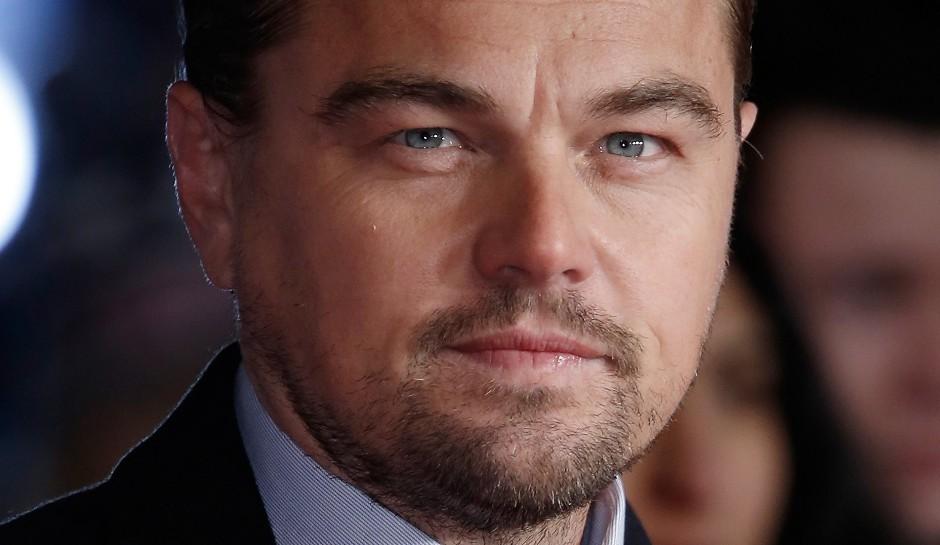 Leonardo DiCaprio oscars celebrity slice