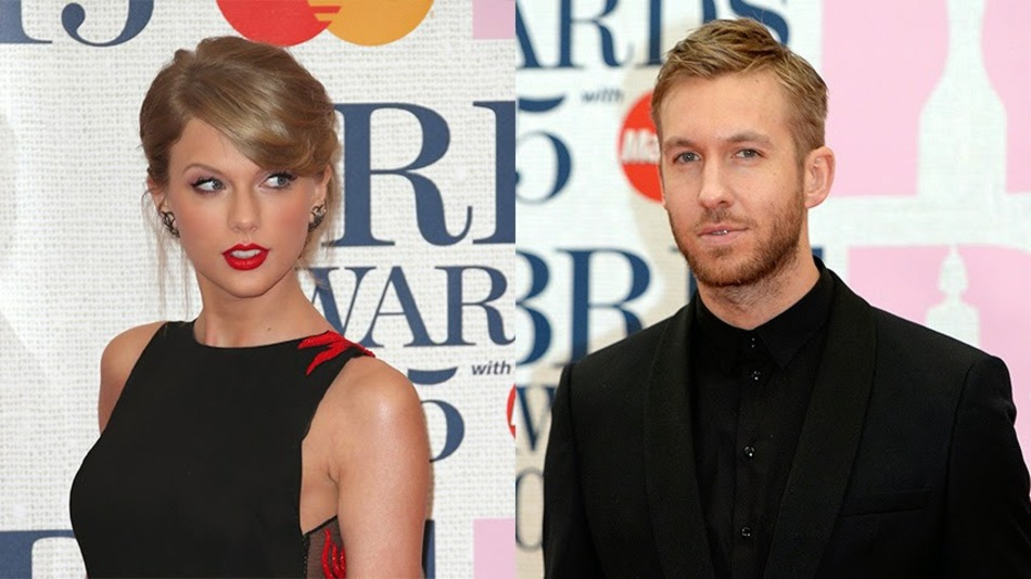 taylor swift and calvin harris vacation celebrity slice