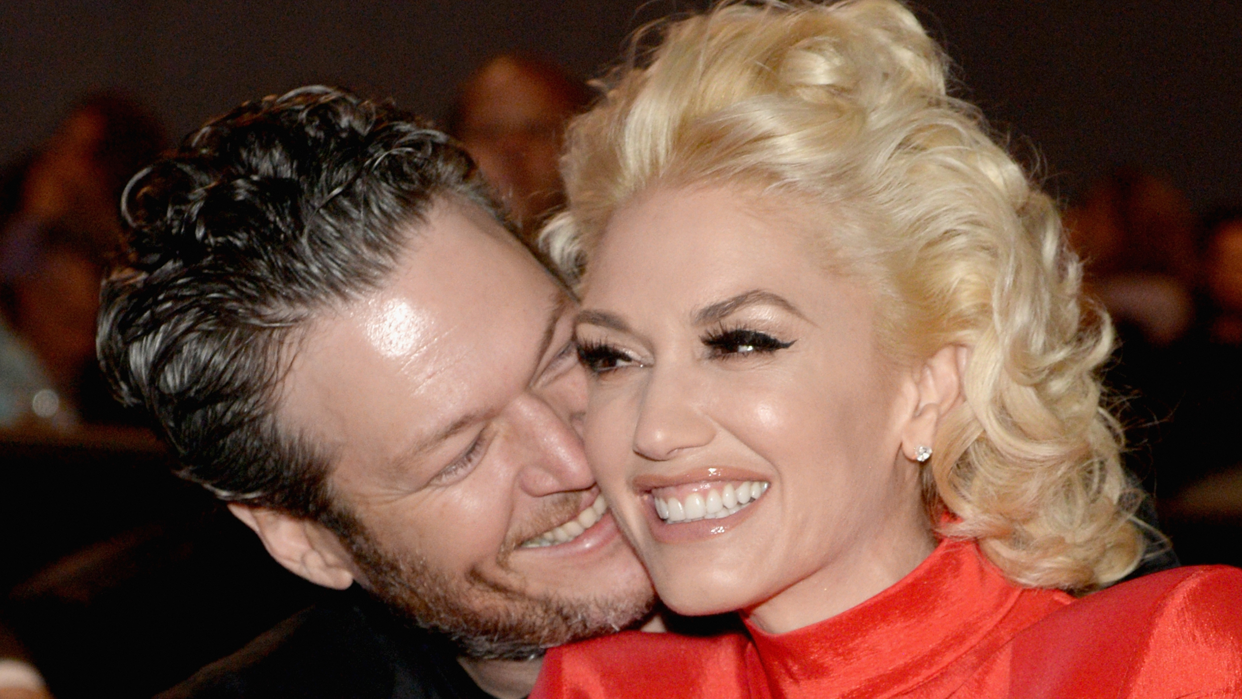 blake shelton and gwen stefani celebrity slice