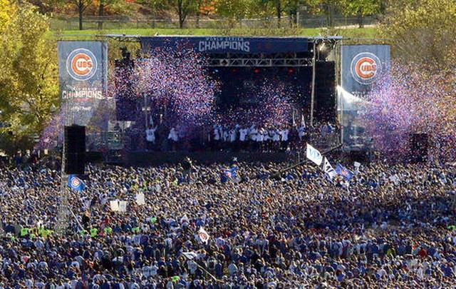 796World Series Cubs Parade Baseball
