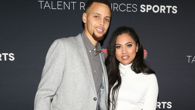 steph and ayesha curry celebrity slice