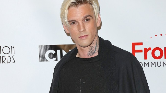 aaron carter now celebrity slice