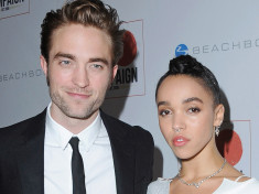 Robert Pattinson and FKA twigs celebrity slice