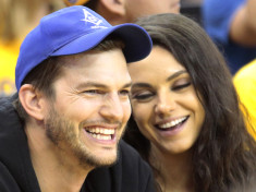 Ashton Kutcher and Mila Kunis kids celebrity slice