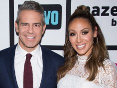 andy cohen and Melissa Gorga Celebrity Slice