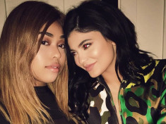 jordyn woods and kylie jenner celebrity slice