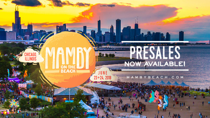 Mamby On The Beach 2018 Presale Tickets Available Now celebrity slice