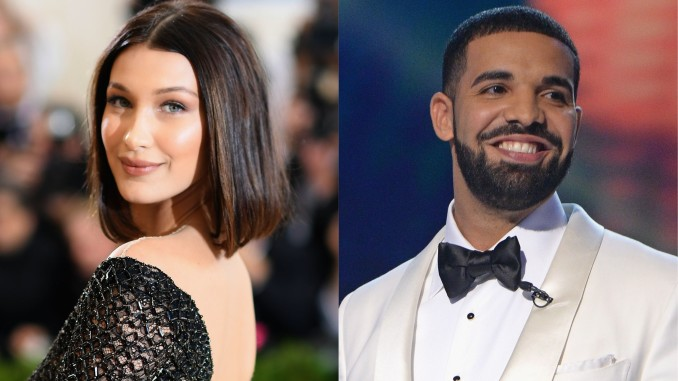 bella hadid drake celebrity slice